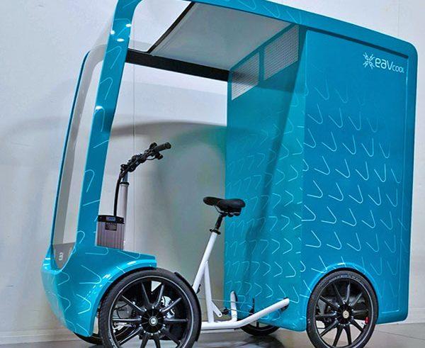 E-cargo bike keeps its cool