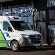 Freezerent refrigerates eSprinter deliveries