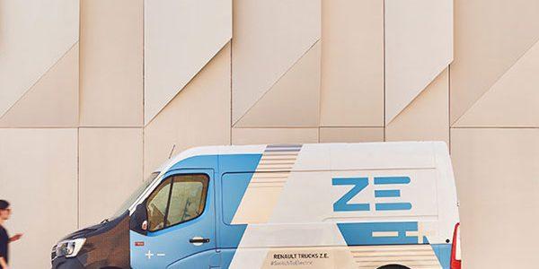 Renault Trucks adds 3.5t Master Z.E.