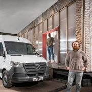 Sustainable building firm opts for eSprinter