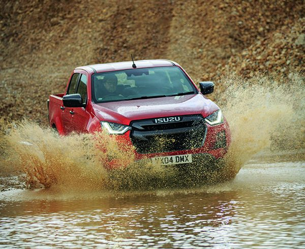 Isuzu D-Max: Picking up sales