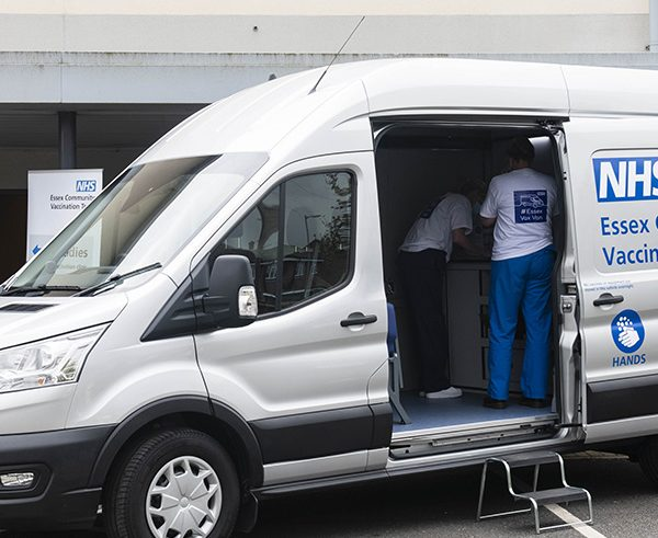 NHS and Ford pilot bespoke Transit van to deliver COVID-19 vaccinations