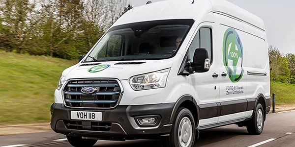 European customer trials announced for new E-Transit Van