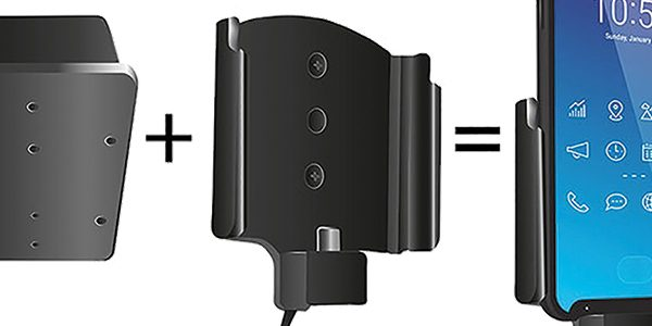 Expanded range of mobile device mounting systems