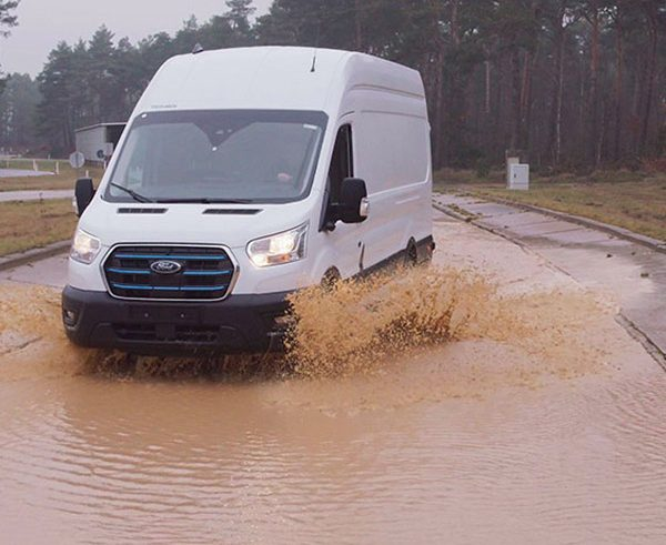 Ford E-Transit 'torture tests' simulate a life of hard use