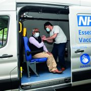 Ford pilots COVID-19  vaccination Transit