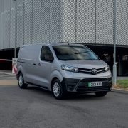 Proace leads electric charge for Toyota