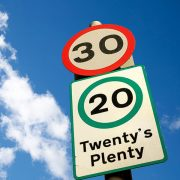 Almost half of motorists support making 20mph the new 30mph