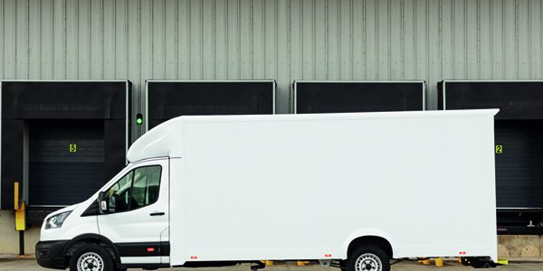 Ford launches low-floor Luton box van