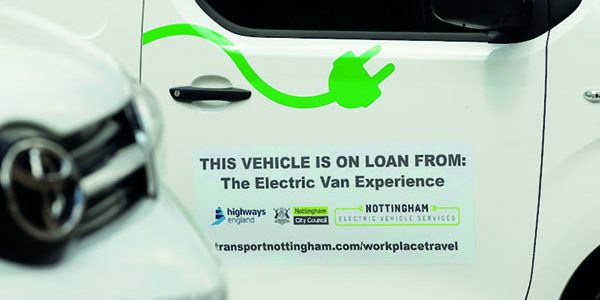 Nottingham offers electric trials