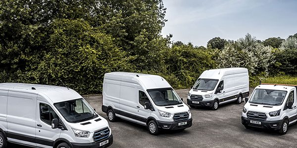 Fleet customers begin trial with Ford E-Transit