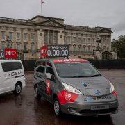 Nissan becomes official automotive supplier to 2021 London Marathon