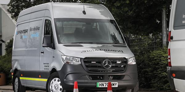 Mercedes trials electric roadside assistance van