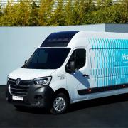 HYVIA unveils first hydrogen Renault Master Van H2-TECH prototypes
