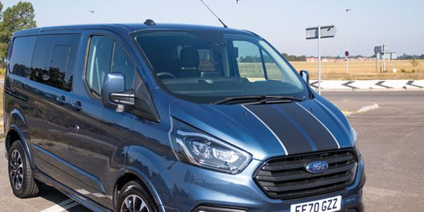 Double-cab practicalities: Ford Transit custom