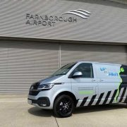 Up & Away flies into action with a fleet of ABT e-Transporter 6.1